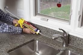 Sealant For Kitchen Sink Caulk For Kitchen Sink Kitchen Sink