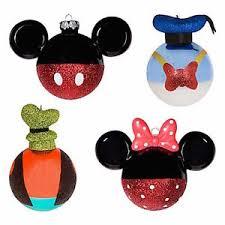 disney parks ornament set mickey minnie goofy donald new