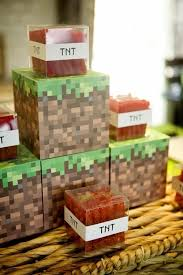 minecraft birthday party minecraft birthday party ideas diy inspired