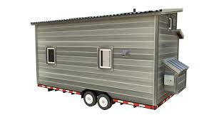 Economical Homes To Build The Cider Box Modern Tiny House Plans For Your Home On Wheels