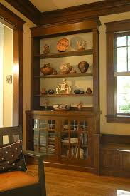 Arts And Crafts Style Rugs Wall Units Amazing Craftsman Style Built In Bookcases Craftsman