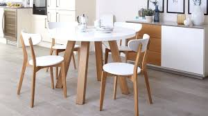 arc floor l dining room white and oak dining table set arc oak and white gloss and oak