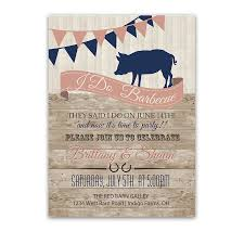 wedding reception invitations i do bbq country wedding reception only invitation