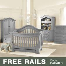 Baby Convertible Crib Sets by Baby Appleseed 5 Piece Nursery Set Davenport 3 In 1 Convertible