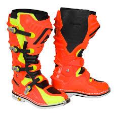 acerbis motocross gear acerbis mx boots x move 2 0 fluo orange yellow black 2017 maciag