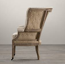 Restoration Hardware Dining Room Chairs Deconstructed 19th C English Wing Chair