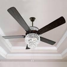elegant chandelier ceiling fans chandelier ceiling fans elegant crystal fan wayfair inside