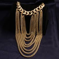 big gold fashion necklace images Click to buy anniyo africa big pendant necklaces women ethiopian jpg