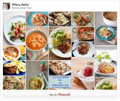 List Of Easy Dinner Ideas 30 Days Of Mommy Meals Peanut Blossom