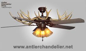 antler ceiling fans antler chandelier