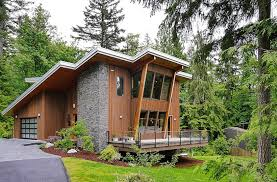 Modern Cabin by Contemporary Cottage Plans
