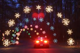 christmas light park near me nn s celebration in lights shines along 100 miles of light displays
