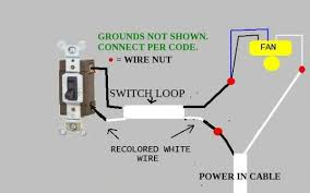 Wiring For Ceiling Fan With Light How To Wire A New Ceiling Fan Wiring Www Energywarden Net