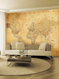 giant wallpaper murals home design ideas old map giant easy hang wall mural