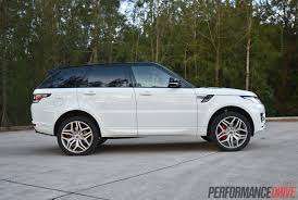 land rover white black rims 2014 range rover sport autobiography v8 review video