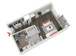 3 Bedroom Floor Plans by Inman Park Apartments N Highland Steel Atlanta
