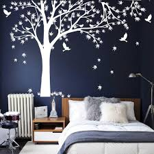 maple tree tree leaves birds wall decal tree leaves birds