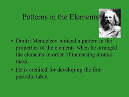Who Is Credited With Arranging The Periodic Table The Atom The Elements U0026 The Periodic Table 2 Democritus Bc