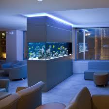le wohnzimmer led aquarium dans le salon en plus de 103 idées magnifiques