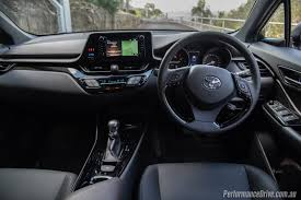 suv toyota inside 2017 toyota c hr koba review video performancedrive
