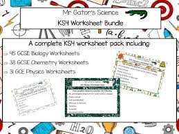 gcse science worksheet pack by mrgator teaching resources tes
