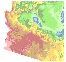 Arizona Cities Map by Bullhead City Arizona Hardiness Zones