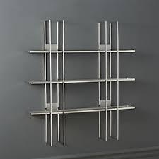 modern wall decor and wall shelves cb2