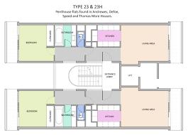 defoe house flat plans barbican living