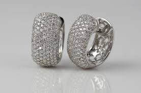 diamond huggie earrings jewelry scherer s jewelers