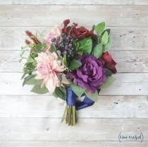 silk flowers for weddings silk wedding bouquet 2 weddbook