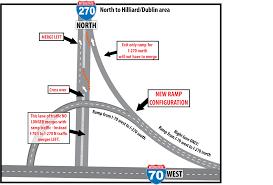 Columbus Ohio Traffic Map by I 270 Reconstruction Southwest Side