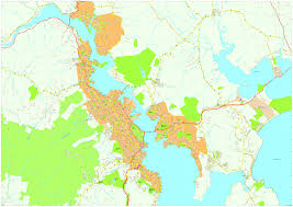 vector maps hobart vector maps eps illustrator map our cartographers