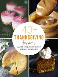 40 thanksgiving desserts recipe