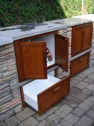 Outdoor Cabinets Outdoor Cabinets For Patio With Kitchen Home And Polymer Sale