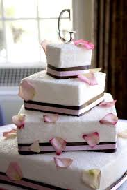 Square Wedding Cakes The 25 Best Pink Square Wedding Cakes Ideas On Pinterest Square