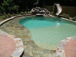 pool water slides installed vista pro pools u0026 spas