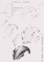 ornamental woodcarver damiaens the acanthus leaf