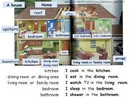 rooms in the house rooms in a home english 4 me 2