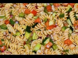 easy cold pasta salad italian dressing pasta salad healthy dish how to make pasta salad