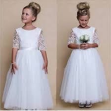 communion dresses flower girl dress white holy communion dresses sash ebay