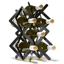 ultra modern steel wine racks standing wine rack