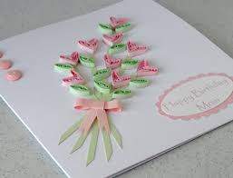 home made flowers greetings cards designs ideas trendy mods