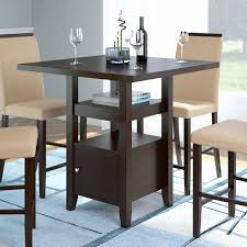 Espresso Bistro Table Corliving Bistro Counter Height Dining Table With Cabinet
