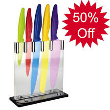coloured kitchen knives 4 slate cheese board set colour and