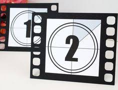 themed table numbers 20 x digital printable wedding table by cobblestoneinvites