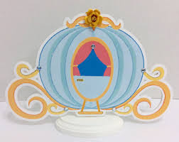Princess Carriage Centerpiece Cinderella Carriage Cookies Cinderella Wedding Cinderella