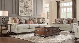 Rooms To Go Living Rooms - exciting taupe and red living room contemporary best idea home