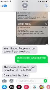 Alarm Meme - my dad is in hawaii for travel hawaii missile false alarm