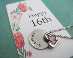 21st birthday gift personalized initial necklace 21st