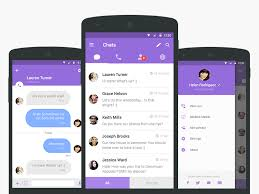 tutorial viber android viber redesign android ui ui design and android